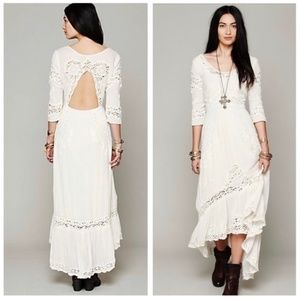 RARE Free People Ivory Mexican Wedding Dress💍